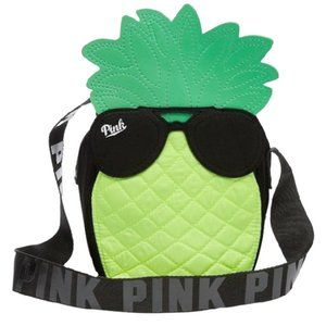 VS PINK Insulated Pineapple Cooler